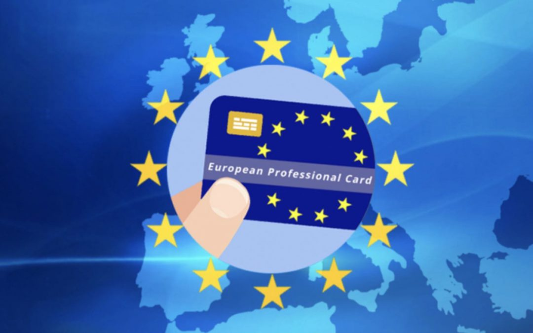Cardul profesional european – EPC