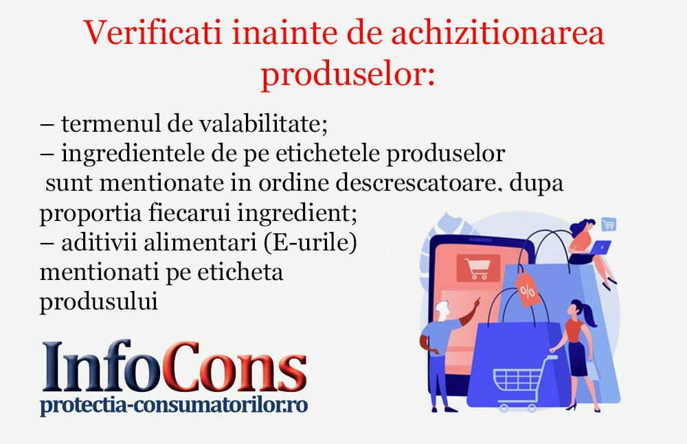 Verificati inainte de achizitionarea produselor